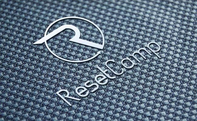 Prezentacja logo Reset Camp